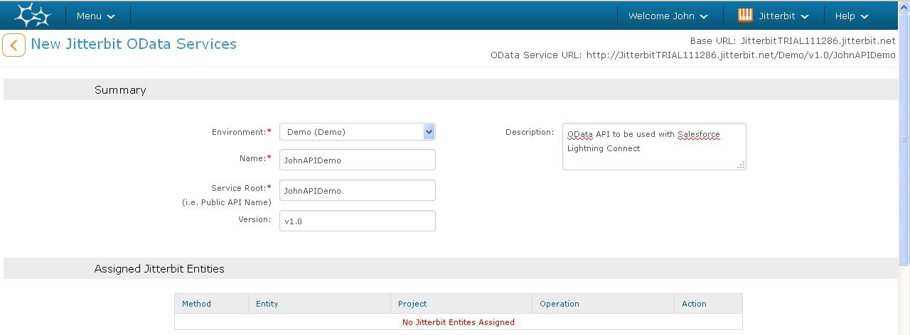 Creating an OData API for Use with Salesforce Connect