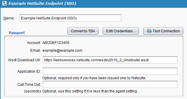NetSuite Connector Endpoint - Jitterbit Success Central