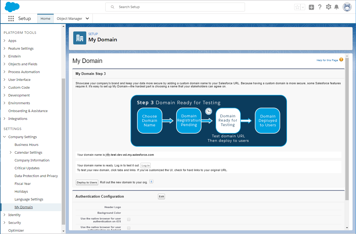 Configuring OAuth 2 0 with Salesforce - Jitterbit Success Central
