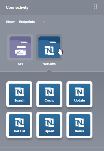 NetSuite Get List Activity - Cloud Studio - Jitterbit Success Central